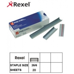 Rexel Staples No: 56