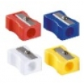 Plastic Coloured Sharpener
